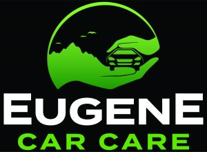 Eugene Car Care's Logo on Black