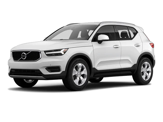 A white Volvo